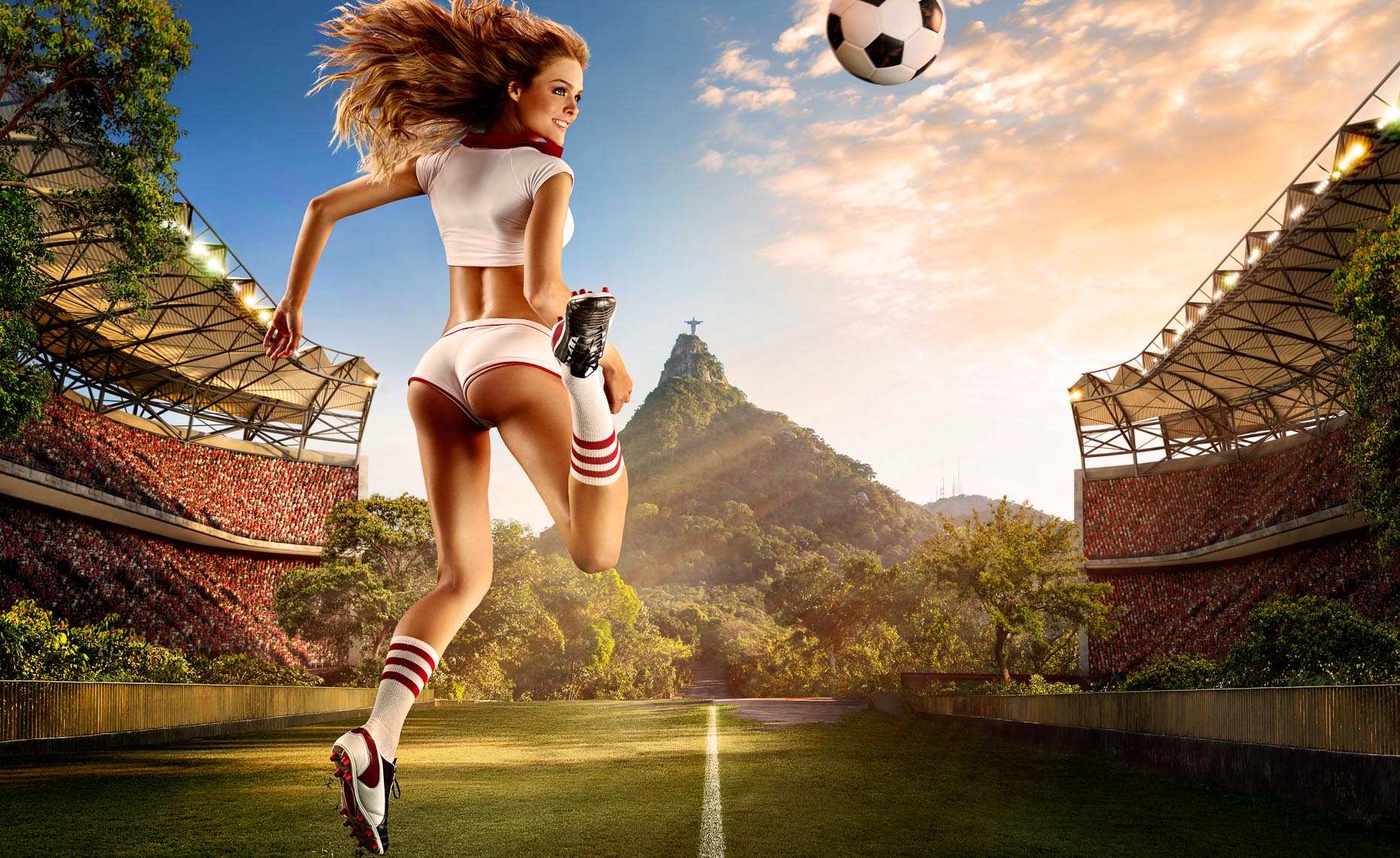 Futbol by Tim Tadder for Tecate World Cup, England