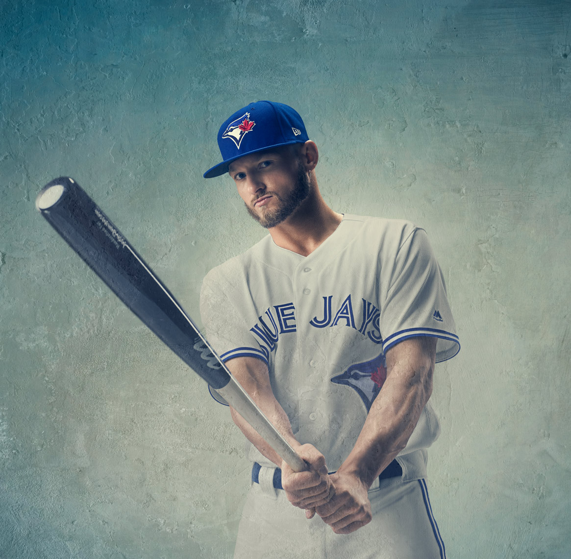 Josh Donaldson by Tim Tadder for New Era Cap Co MLB, Braves, Blue Jays